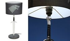 Game of Thrones Longclaw Desk Lamp Rob Stark Sword Officially License New In Box