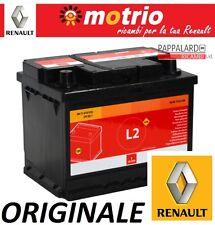BATTERIA AVVIAMENTO ORIGINALE MOTRIO RENAULT 12V 60Ah 510AV cod 8671016918