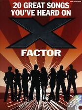 Songs Youve Heard On X Factor Learn to Play Pop PIANO Guitar PVG Music Book