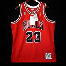 100% Authentic Michael Jordan Mitchell Ness 96 97 Finals Bulls Jersey Sz 48 XL *