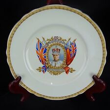 Antique Circa 1937 King Edward VIII Commemorative Coronation Plate Rare Marked