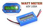 Analyzer Amp Ammeter Watt Meter LCD Wattmeter 60V 100A Power Volt