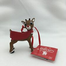 2016 Dept 56 Rudolph Ornament BLANK PERSONALIZE # 4057208