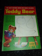 TEDDY BEAR Comic - Year 1968 - Date 31/08/1968 - UK Paper Comic