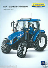 Farm Tractor Brochure - New Holland - T4.55 T4 Powerstar c2011 4 page (F4259)
