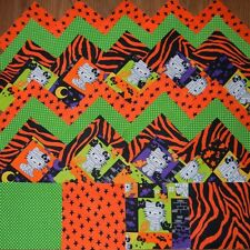 hello kitty halloween 4x4 fabric squares~quilt blocks (20) kit/sewing