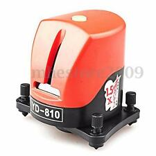 YD-810 360 Degree Self-leveling Cross Red Laser Level 2 Line 1 Point Horizontal