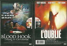 1 DVD 2 FILMS : BLOOD HOOK, L' ETANG DU CAUCHEMAR + L' OUBLIE / HORREUR
