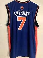 Adidas NBA Jersey NEW YORK KNICKS Carmelo Anthony Blue sz SMALL
