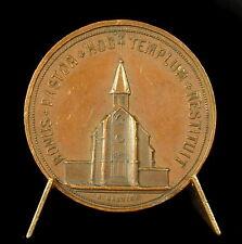 Médaille Église Saint-Josse-au-Val de Montreuil-sur-Mer sc  Garnier 36mm Medal