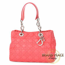 Dior Lady di Dior soft Center to bag lambskin pink Free Shipping