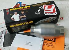 "2.5"" Magnaflow Universal 59956 Catalytic Converter High Flow Spun Metallic Cat"