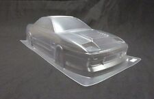 1/10 RC Car PC Clear Body Shell 190mm Nissan S13 180SX Drift TAMIYA YOKOMO HPI