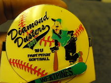 2001 Westpines Diamond Dusters  Girls Fast Pitch Softball Collectors Pin, Pluto