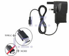 UK 2A HIGH POWER MAINS TYPE-C WALL CHARGER FIT SONY XPERIA XZ X COMPACT