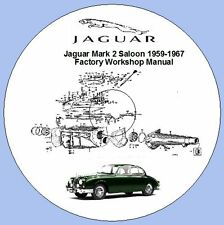 Jaguar Mark 2 Saloon 1959-1967 Factory Workshop Manual