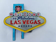 Gürtelschnalle Welcome to Las Vegas Nevada Belt Buckle Skull NEU dt.Händler