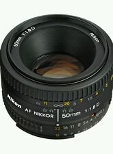 Brand New Nikon AF Nikkor 50mm f/1.8D Lens for Nikon DSLR Cameras