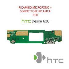 RICAMBIO ORIGINALE PORTA USB RICARICA CONNETTORE MICROFONO per HTC DESIRE 620