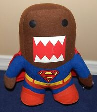"9"" Domo Kun in Superman Costume Plush Doll Stuffed Animal 2014"