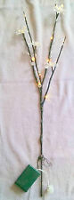 Battery Operated Led Branch Christmas Decor 27 inch Warm White Lights FLOWERS