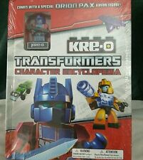 KRE-O TRANSFORMERS Character Encyclopedia, including ORION PAX mini figure (DK)