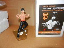 SF GIANTS BRUCE LEE SGA 40th ANNIVERSARY OF ENTER THE DRAGON FIGURINE NON BOBBLE