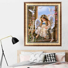 DIY 5D Diamond Painting Little Angel  Embroidery Cross Crafts Stitch Home Decor
