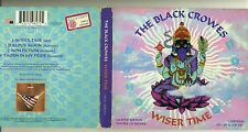 the BLACK CROWES - WISER TIME - Limited Edition 2 CDs Digipak 1995