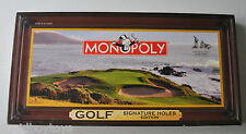 MONOPOLY GOLF Signature Holes Edition BOARD GAME 2005