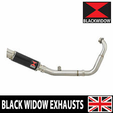 YZF-R125 YZFR125 14 15 16 Exhaust System GP Style Black Stainless Silencer BG23R