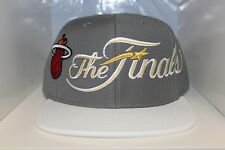 Miami Heat Adidas 2014 Eastern Conference Locker Room Snapback Hat Gray/White