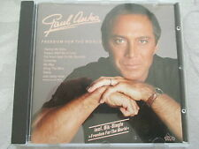 Paul Anka - Freedom For The World - Dino Music CD NEUWERTIG ULTRA RARE