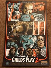 Childs Child's Play 2 Kyle Crawford Movie Print Poster Mondo Chucky Doll Horror