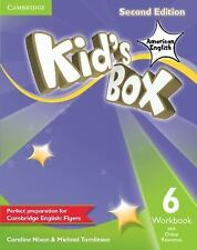 Kid's Box American English Level 6 Workbook with Online Resources by Michael...