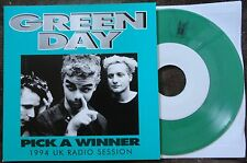 """Green Day- Pick A Winner 7"""" on limited Green Vinyl BBC Sessions RARE!"""