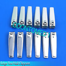 "New 3 1/4"" 100 % Straight Edge Toe Nail Clipper Pedicure Tool 12 pcs lot"