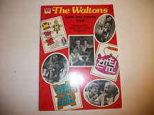 Vintage Whitman The Waltons Tv Show Coloring Activity Book UNUSED