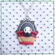 Collana Cammeo Senzavolto Cute Spirited Away No Face Necklace Fimo Clay Ghibli