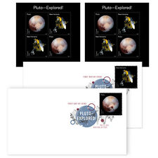 USPS New Pluto - Explored! Keepsake with DCP set of 2 + 2 panes