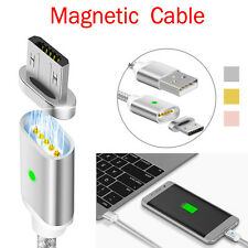 New Magnetic USB Adapter Charging Charger Data Sync Cable For Android Mobile