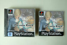 PARASITE EVE 2 PLAYSTATION PS1 PSONE PSX PAL ESPAÑA RARE