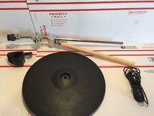 Roland CY-14C cymbal cy 14c crash w/clamp cable & boom arm 12r/c td 6 8 12 #1
