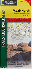 National Geographic Trails Illustrated UT Moab North / Arches Park Topo Map 500