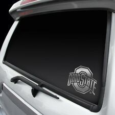 Ohio State Buckeyes Chrome Window Graphic - Silver Sticker Decal Car Auto NCAA