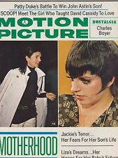 DEC 1972 MOTION PICTURE vintage -- movie magazine --- JACKIE KENNEDY - LIZA