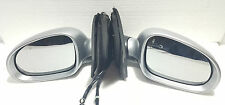 VW GOLF MK5 2003-2009 NEW PAIR OF ELECTRIC WING MIRRORS IN SILVER PAINTED LA7W