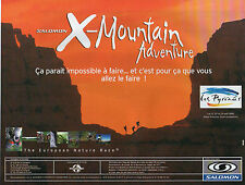 Publicité 1998  SALOMON  X - Mountain Adventure vetement sport collection mode
