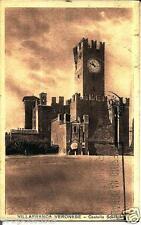 ve 072 1935 - VILLAFRANCA VERONESE  (Verona) Castello Scaligero - viagg. FP