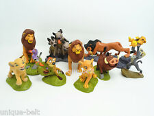 Set of 9 pcs The Lion King Cake Topper Action figures Movie Toy Set Simba Gift